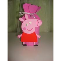 Sacolinha Supresa Eva Tema Peppa Pig Pacote Com 10 Unidade