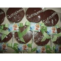 10 Pirulitos De Chocolate Personalizados Pague Em 12x