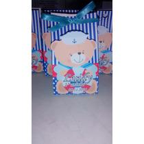 Caixa Ursinho - Festa Infantil - Kit Com 25