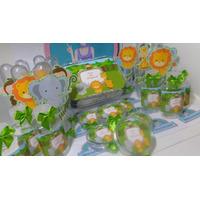 Kit Festa Infantil Personalizados Safar; Em Vários Temas