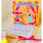 20 Convites Aniversário Pop Up 3d Circo Scrapbook