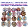50 Kit Carinho Bebê-50 Medalhinhas-mini Terços+latinhas 5x1!