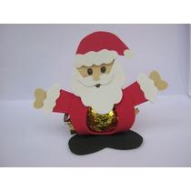 12 Porta Bombom Papai Noel