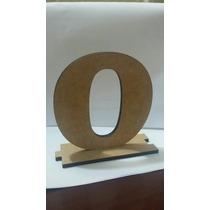 Letras Ou Numeral Com Base E Encaixe Em Mdf Cru