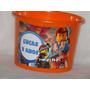 Kit 10 Baldes De Pipoca Lego 1,5l