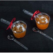 30 Mini Panelinha + Colherzinha Lembrancinha Chá De Cozinha