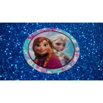 Frozen 30 Adesivos Para Garrafinha De Água O Filme 6cm Flor