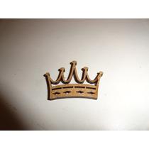 Kit 10 Mini Coroas Em Mdf Cru - Lembrancinhas Princesas