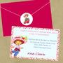 50 Convites Infantil Personalizados 10x15cm Com Envelope