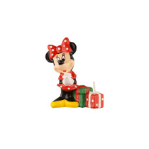 Vela P/aniversário 3d Minnie Vermelha