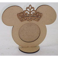 Porta Retrato Mickey Minnie Laço Ou Princesa Kit 30 Peças