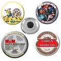 100 Imãs De Geladeira Personalizados Em Metal (boton)
