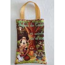 25 Mochilas Saquinhos Sacolas Personalizadas Mickey Safari