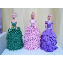Lembrancinha Para Aniversario Ou Decoraçao,boneca Barbie Eva