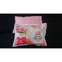 Almofadas Personalizadas Tema Coruja 20x30 Infantil