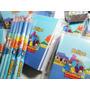 10 Bloquinhos Personalizados 10x13,8cm E 10 Lápis