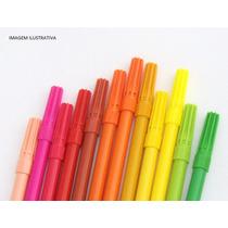 16 Kits De Canetinha De Colorir Almofadas (6 Canetinhas Kit)