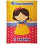 25 Livrinhos De Colorir Personalizados C/ Giz De Cera 21x15