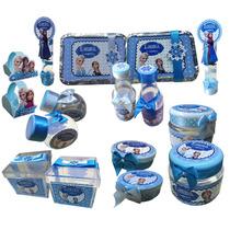 Kit Lembrancinhas Personalizadas. 120 Itens. Frozen +bonitas