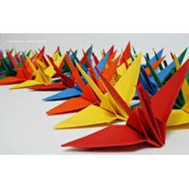 Origame Tsuru 10 Cm - 20 Unidades