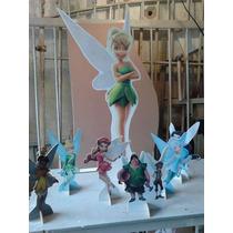 Tinker Bell 10 Pç De Mesa E Uma De Chão De 70cm