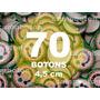 Boton Botton Personalizado 4,5 Cm 70 Unidades Button Botom