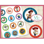 Toy Story - 120 Toppers, Totens Ou Tag Com Palito P/ Doces