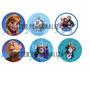 50 Toppers Tags Para Docinhos Frozen