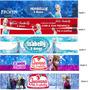 50 Rotulos Mini Refrigerante Personalizados Todos Temas