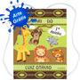 20 Mochilinhas Sacolinhas Personalizado Lembrancinha Safari