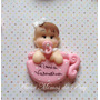 50 Lembrancinhas Chá De Bebê Biscuit/ Bebê Na Xícara Imã