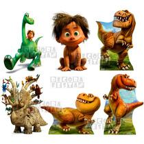 Kit 6 Bom Dinossauro Displays Mesa Decoração Festa Infantil
