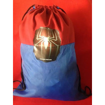 Kit Com 10 Mochilas Tema Homem- Aranha