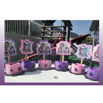 05 Lembrancinhas Monster High /mini Enfeite De Mesa =r$ 8,90