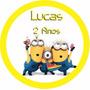 60 Rótulos Latinha Minions Festa Infantil