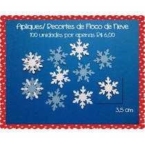 Recortes / Apliques Floco De Neve Frozen