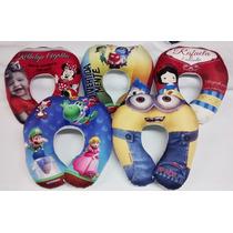 10 Almofadas Personalizadas De Pescoço - Infantil