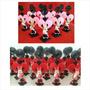 20 Lemb. Minnie Vermelhas Ou Rosas Em Biscuit / Aniversário