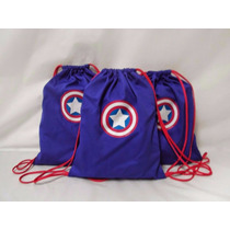 15 Mochilas Brindes Personalizadas Capitão America