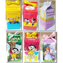 10 Caixinha Surpresa Caixa Leite (milk) Personalizada