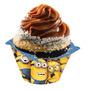 16 Unid. Saia Porta Cupcake P/ Festa Tema Minions
