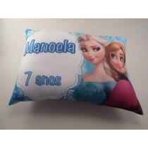 50 Almofadas Personalizadas Aniversário Frozen Outros Temas