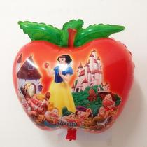 Balão Maçã Da Branca De Neve(45cm) - Pacote Com 30