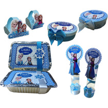 Kit Lembrancinhas Personalizadas. 40 Itens. Frozen +bonitas
