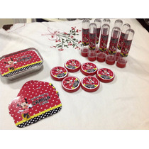 Kit Festa Personalizado Minnie Vermelha 90 Itens