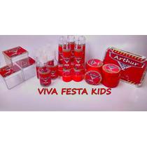 Kit Festa Personalizada Carros, Peppa Pig E Etc C/ 250 Unid.