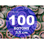 Boton Botton Personalizado 3,5 Cm 100 Unidades Button Botom