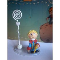 Pequeno Príncipe 8cm Em Biscuit Porta Recado