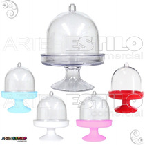 Mini Cupulas De Acrilico P/ Lembrancinha - Emb C/ 10