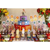 Kit Festa Infantil Lembrancinha Personalizada + Brinde